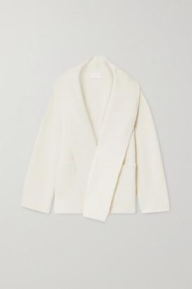 LAUREN MANOOGIAN Oversized Knitted Coat - White