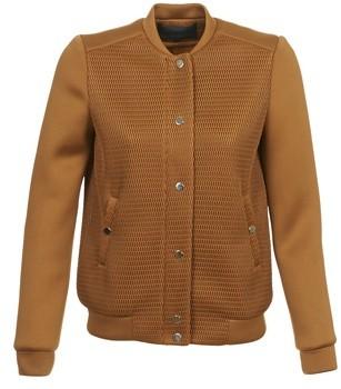 American Retro JASMIN women's Jacket in Brown