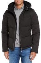BOSS Men's Drewo Modern Convertible Hooded Down Jacket