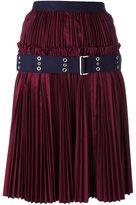 Sacai plissé pleated skirt