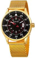 August Steiner Men&s Mesh Bracelet Watch