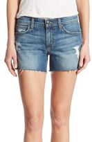 Joe's Jeans Rami Raw Hem Distressed Denim Shorts