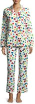 BedHead Christmas Ornaments Long-Sleeve Pajama Set
