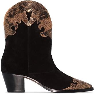 Paris Texas Western 55mm cowboy boots