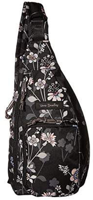Vera Bradley Lighten Up Mini Sling Backpack (Holland Bouquet) Backpack Bags