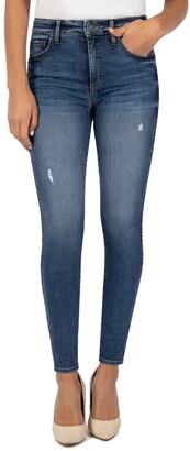 KUT from the Kloth Mia Fab Ab High Waist Toothpick Skinny Jeans