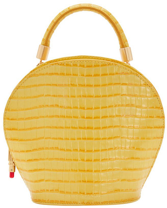 Lulu Guinness Dandelion Willow Top Handle Crossbody Bag