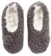 Lemon Women's Teddy Bear Bootie Slipper Socks