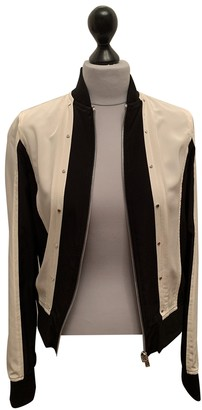 Diesel Black Gold Black Silk Jacket for Women