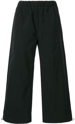 Sofie D'hoore Wide Leg Cotton Trousers