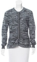 Nina Ricci Patterned Wool Cardigan