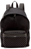 Saint Laurent City Studded Backpack - Mens - Black