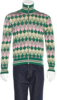 Gucci 2017 Wave Jacquard Wool Jacket