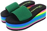 Huafeiwude Womens Beach Platform Wedges Sandals Comfortable Slipper Shoes 37