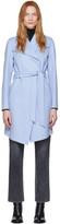 Mackage Blue Wool Laila Coat