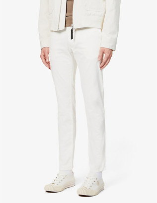 Tiger of Sweden Slim-fit stretch-cotton twill trousers