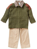 Starting Out Baby Boys 3-24 Months 3-Piece Sweater Set