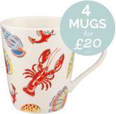 Cath Kidston Lobster & Friends Stanley Mug