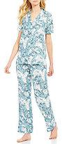 Cabernet Paisley Jacquard Pajamas