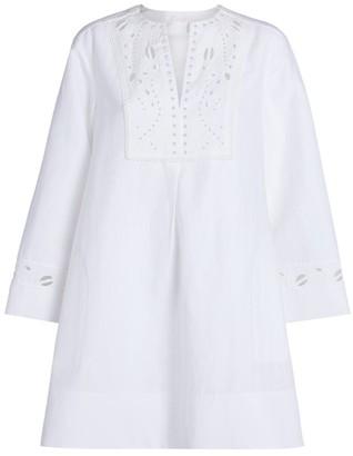 Chloé Broderie Anglaise Mini Dress