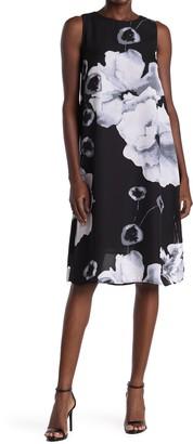 PREMISE STUDIO Floral Sleeveless Shift Dress