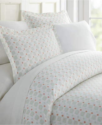 IENJOY HOME Lucid Dreams Patterned Duvet Cover Set by The Home Collection, King/Cal King Bedding