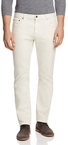 Michael Kors Straight Fit Jeans in White - 100% Exclusive