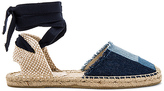 Soludos Patchwork Classic Sandal in Navy. - size 6 (also in )