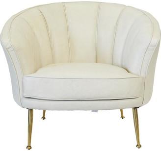 Cafe Lighting Starkey Arm Chair Ivory