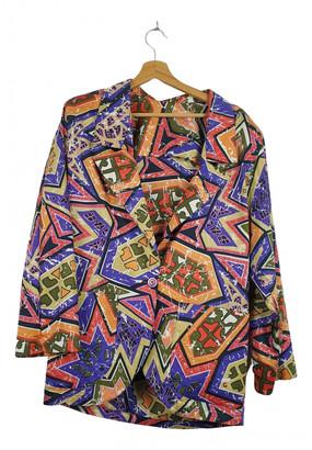 Non Signã© / Unsigned Oversize Multicolour Cotton Jackets