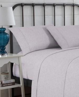 Hudson Main Modern Space-Dyed Queen Sheet Set Bedding
