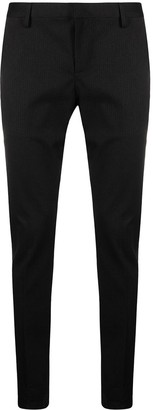 Dondup Straight Leg Pinstripe Trousers