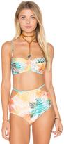 Somedays Lovin Rhapi Palm Retro Bikini Top