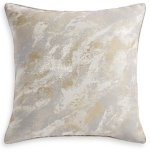 Hotel Collection Metallic Stone European Sham, Created for Macy's Bedding