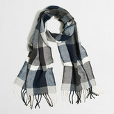 J.Crew Factory Plaid scarf