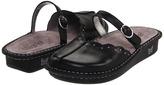 Alegria Tuscany (Black Burnished Leather) - Footwear