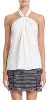 Jason Wu Women's Stretch Cady Halter Top