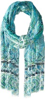 Echo Tropic Paisley Wrap Scarf Scarves