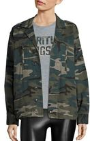 Spiritual Gangster Trust the Universe Cotton Camo Army Jacket