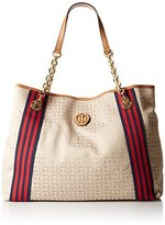 Tommy Hilfiger Web Jacquard Tote Bag