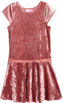 Good Lad Crushed Velvet Drop Waist Dress, Toddler Girls (2T-5T)