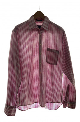Gant Pink Linen Shirts