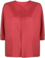 Manzoni 24 cropped patch pocket jacket
