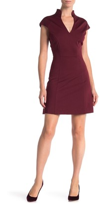 Alexia Admor V-Neck Solid Knit Dress