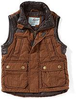Class Club Big Boys 8-20 Faux-Suede Vest