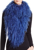 Jocelyn Tibetan Lamb Fur Scarf - 100% Exclusive