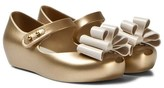 Mini Melissa Gold Ultragirl Sweet Shoes