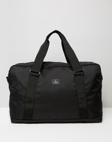 Asos Holdall In Black With Patch