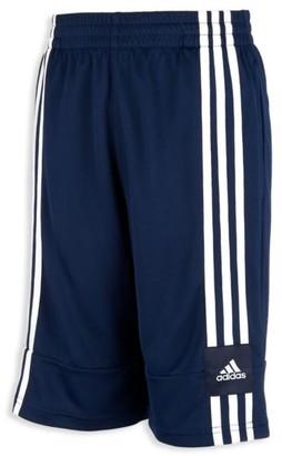 adidas Little Boy's & Boy's Aero Ready 3-Stripe Basketball Shorts