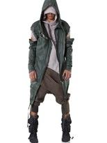 'raincoat Green Bug' Nylon Jacket